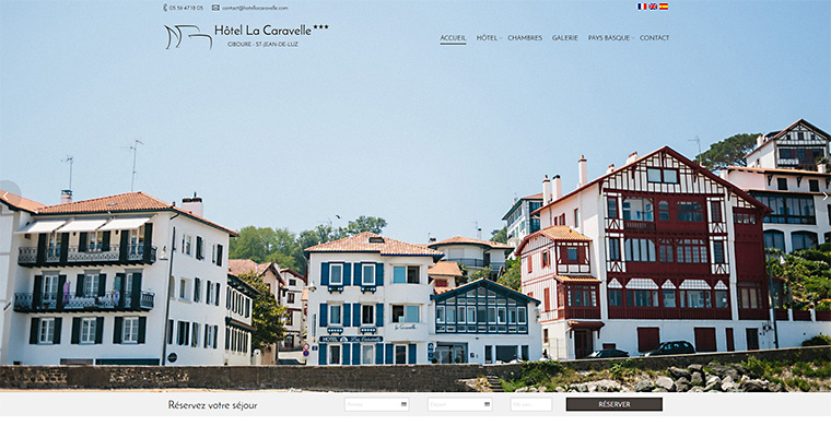 Hotels saint jean de luz st jean de luz for Hotel design pays basque